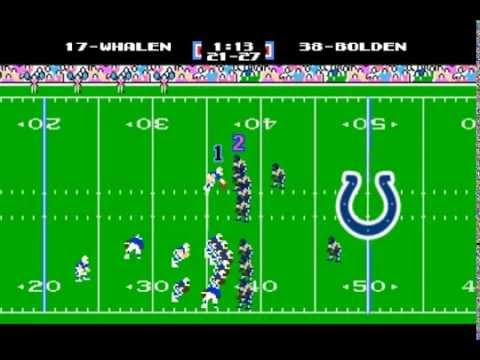 Indianapolis Colts Trick Play (Tecmo Super Bowl Edition)!