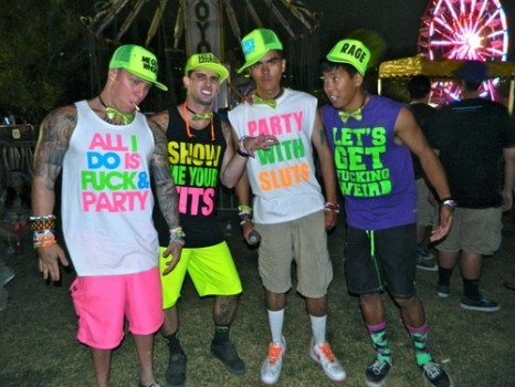 Guys, enough with the bro shit! Acceptable concert/festival attire is as follows…
