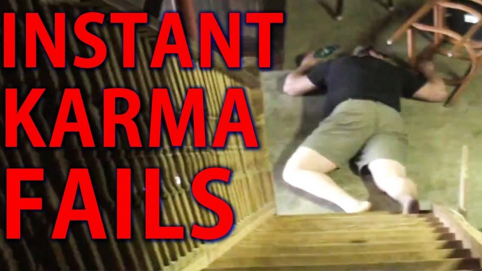 Epic Instant Karma Fails Compilation