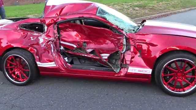 What Happens If You Crash A Brand New Car