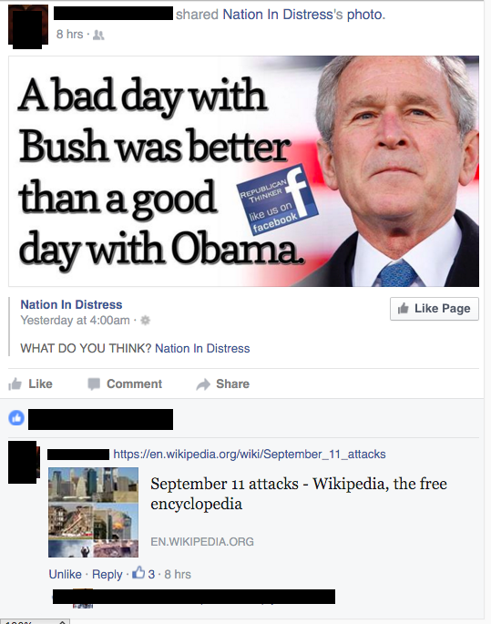 bush did 9/11  meme