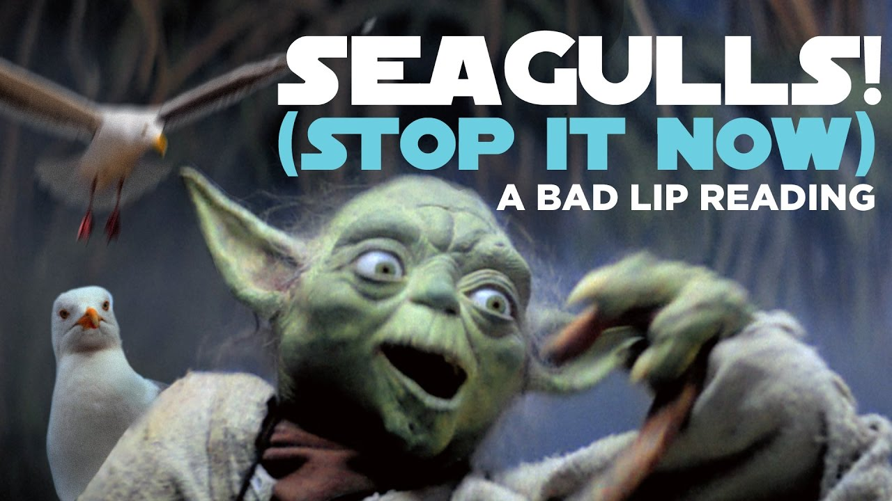 Bad Lip Reading of the Empire Strikes Back