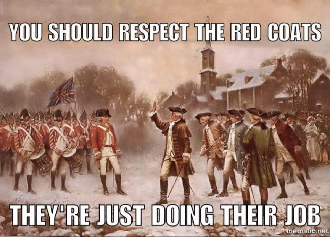 15895086_379154902438675_8622146503989192842_n 650x467 the thin red line supporters the tasteless gentlemen