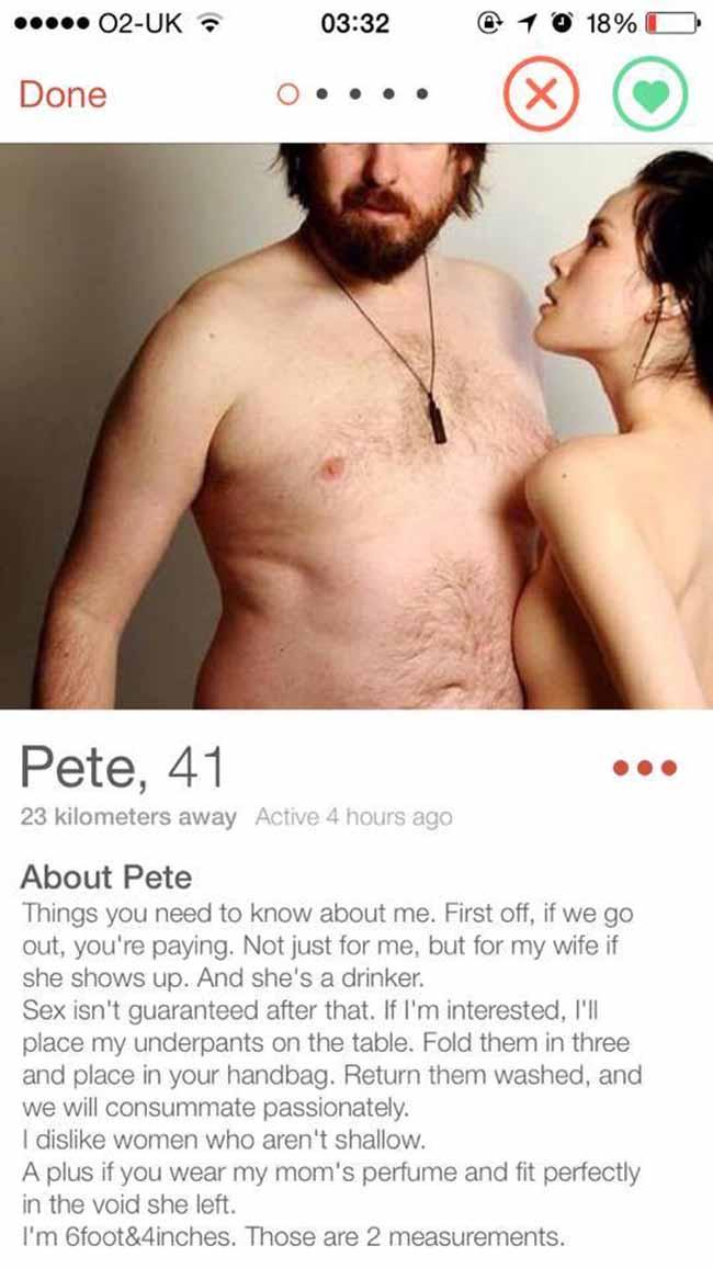 Tinder Profiles – Smash or Pass?