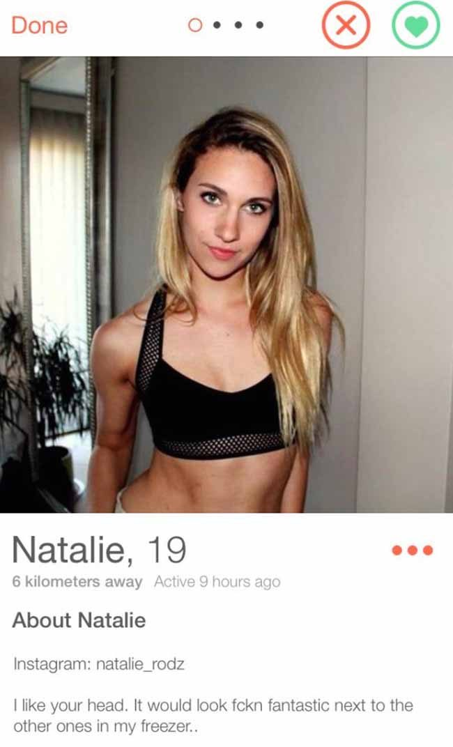 Example Of Good Female Hookup Profile